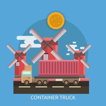 Container Truck Conceptual Design