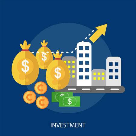 Investimento concettuale design Archivio Fotografico - 80698274