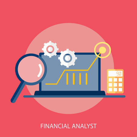 analyst: Financial Analyst Conceptual Design Illustration