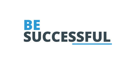 Be Successful Typography Design