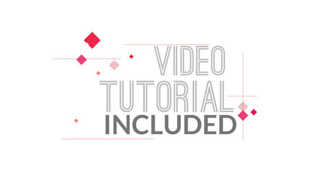 Video Tutorial Included Typography Design