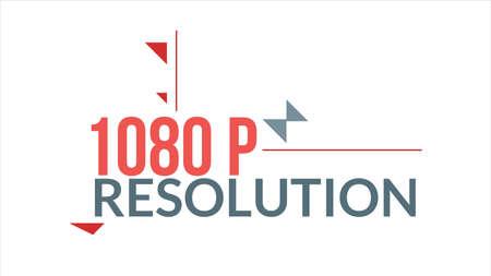 1080 P Resolution Typography Design