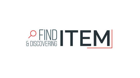 Find and Discovering Item Typography Design