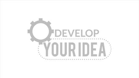 Develop Your Idea Typography Design