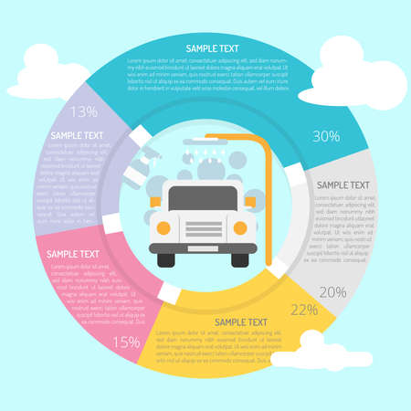 Car Wash Infographic