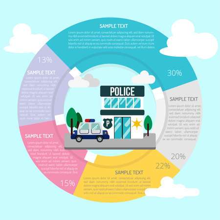 Police Station Infographic