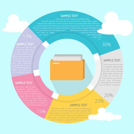 Archieven Folder Infographic