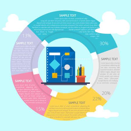 Flowchart Logic Infographic