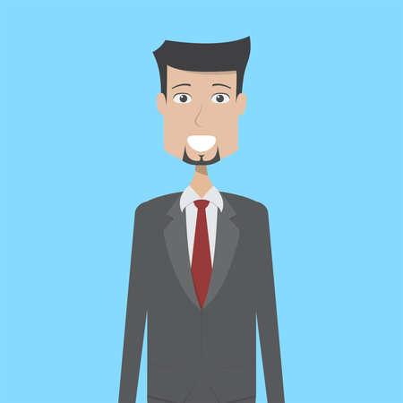 Employer Character Male Ilustracja