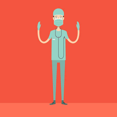 Chirurg Karakter Man