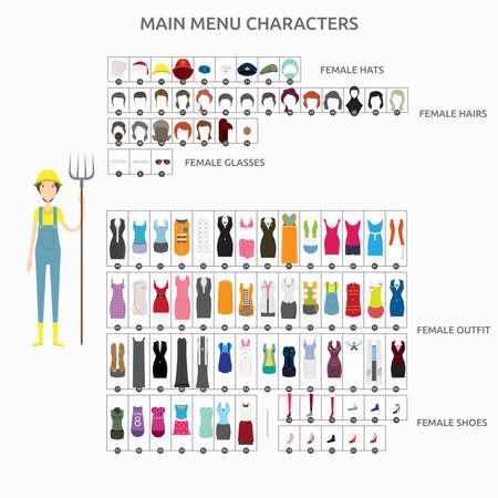 Character Creation Farmer