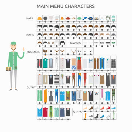 Character Creation Lecturer Moeslim