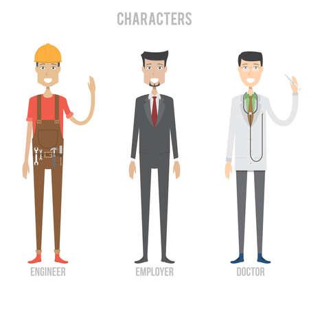 Characters Set Çizim