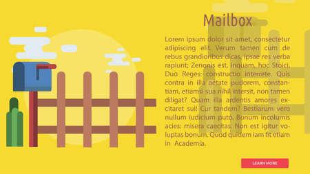 Mailbox Conceptual Banner