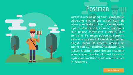 Postman Conceptual Banner