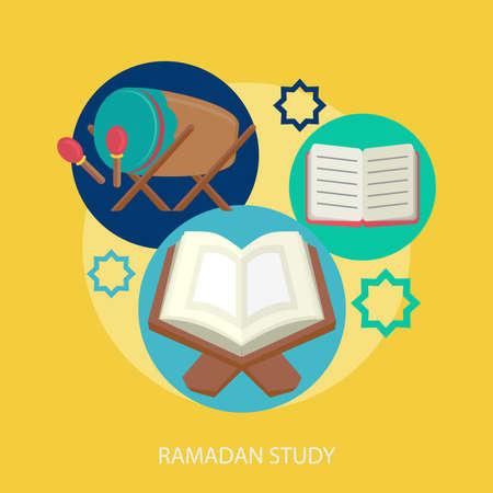 Ramadan Study Conceptual Design Illustration
