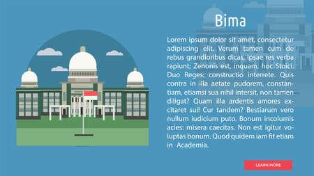 Bima City of Indonesia Conceptual Design