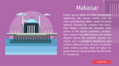 Makassar City of Indonesia Conceptual Design