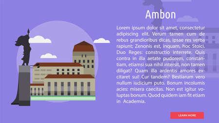 Ambon City of Indonesia Conceptual Design
