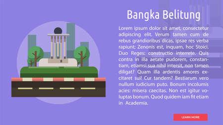 Bangka Belitung City of Indonesia Conceptual Design