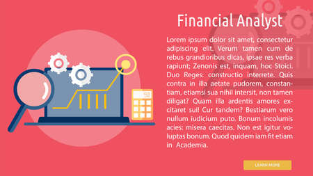 Financial Analyst Conceptual Design Çizim