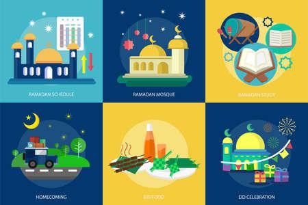 斋月和开斋节穆巴拉克概念设计