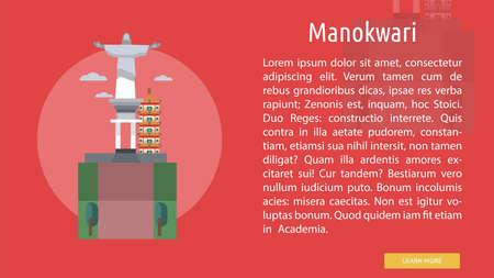 Manokwari City of Indonesia Conceptual Design