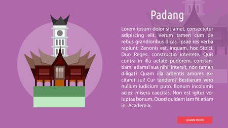 Padang City of Indonesia Conceptual Design