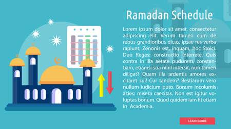 Ramadan Schedule Conceptual Design