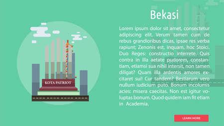 Bekasi City of Indonesia Conceptual Design