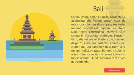 Bali City of Indonesia Conceptual Design