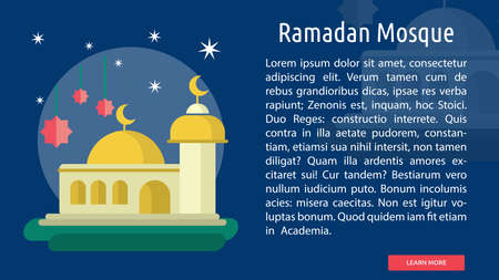 Ramadan Mosque Conceptual Design Çizim