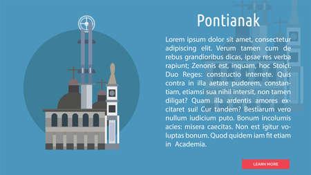 Pontianak City of Indonesia Conceptual Design