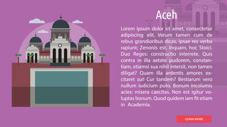 Aceh City of Indonesia Conceptual Design
