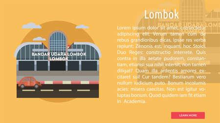 Lombok City of Indonesia Conceptual Design