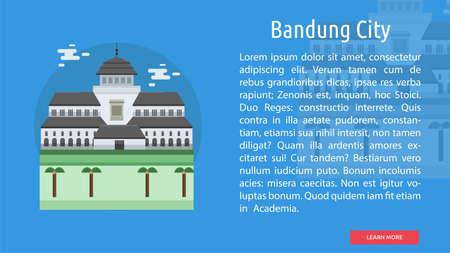 Bandung City of Indonesia Conceptual Design
