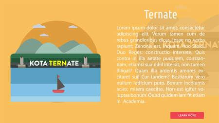 Ternate City of Indonesia Conceptual Design