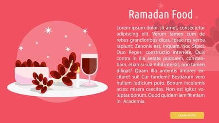 Ramadan Food Conceptual Design