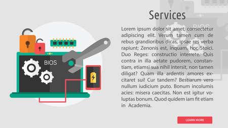 Services Conceptual Design Stok Fotoğraf - 80715744