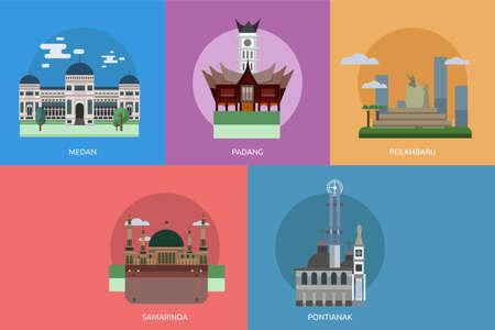 City of Indonesia Conceptual Design Illustration
