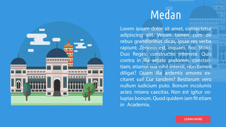 Medan City of Indonesia Conceptual Design
