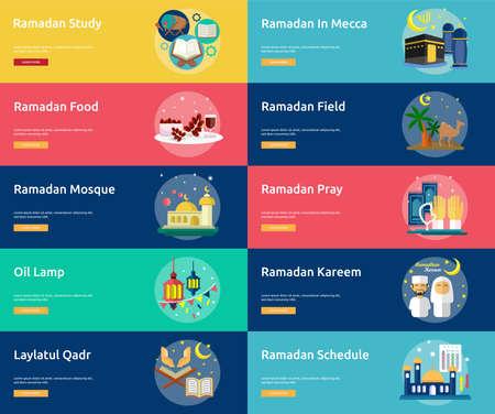 Ramadan Conceptual Banner Design