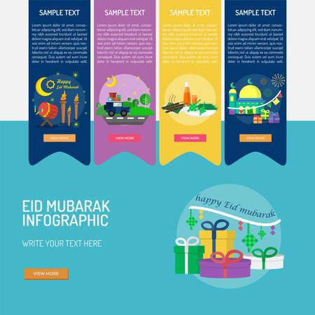 Eid Mubarak Infographic
