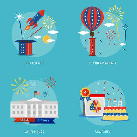 독립 기념일의 미국 개념 설계