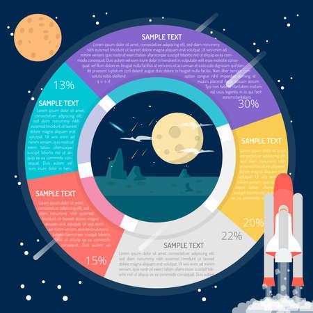 Moon Light Infographic