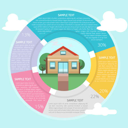 Post Office Infographic Illustration