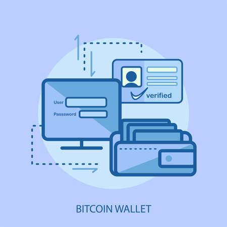 Bitcoin wallet conceptual design