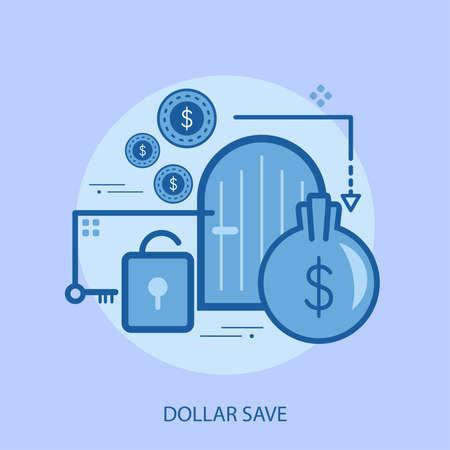Dollar save conceptual design
