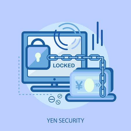 security monitor: Yen Security Conceptual Design Illustration