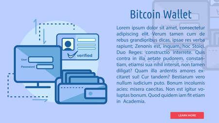 Bitcoin Wallet Conceptual Banner